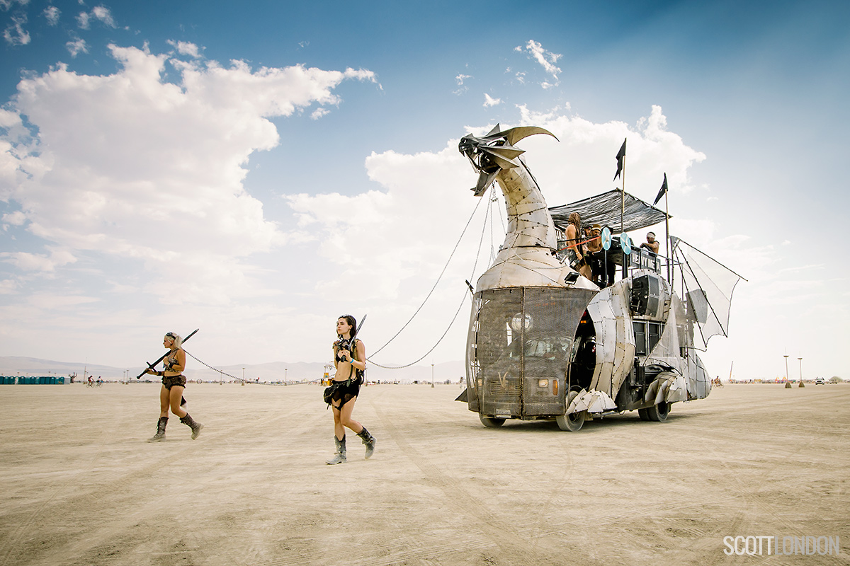 Burning Man 2017 Ð Photo by Scott London Ð www.scottlondon.com