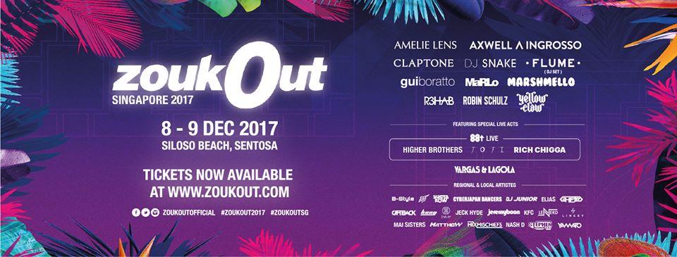 ZoukOut Singapore 2017