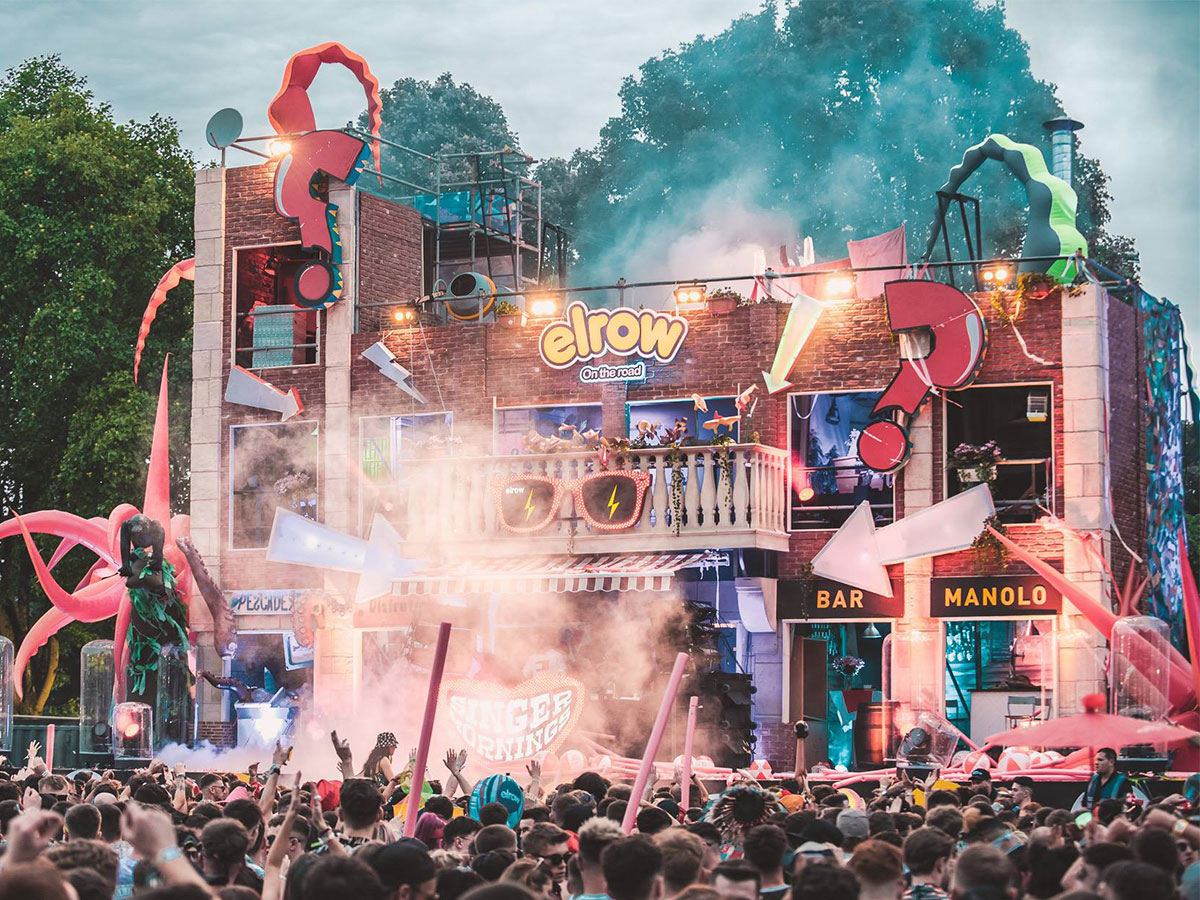 Elrow Town Cardiff