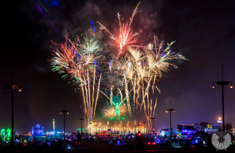 Burning Man festival 2013