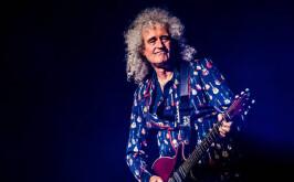 Brian May учит фанатов Queen играть на гитаре