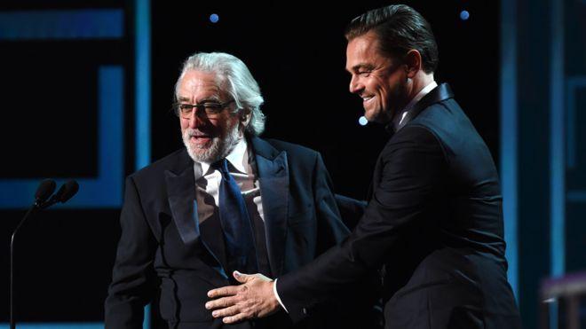 Leonardo DiCaprio и Robert De Niro