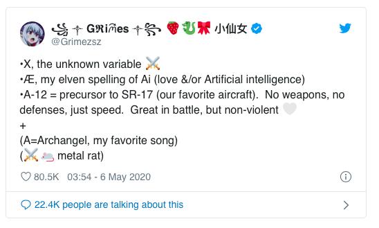 Grimes twitter