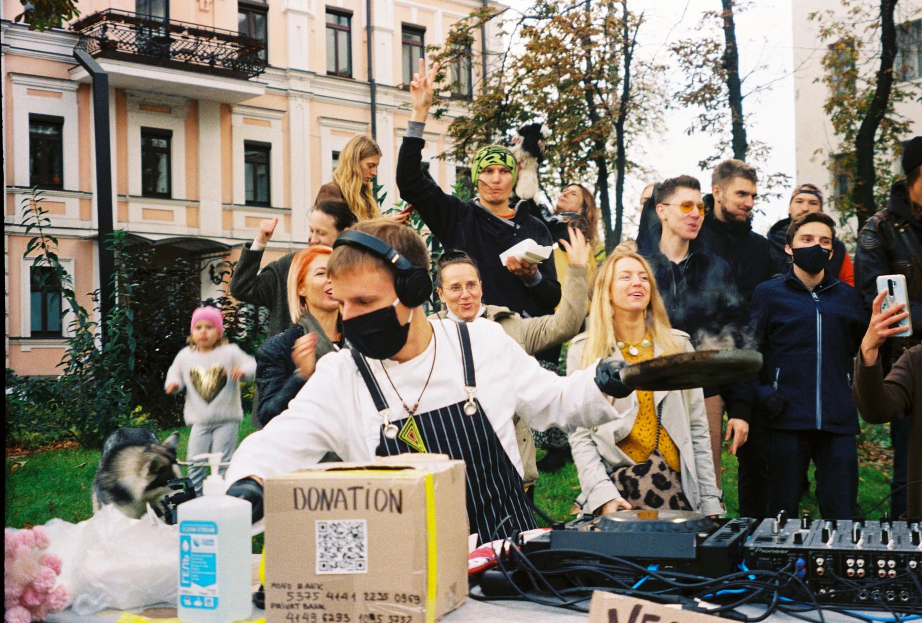 DJ Omlet in Kyiv